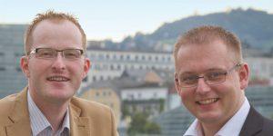 Michael Mengin und Michael Schaufler