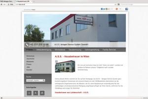 """Das Firmenportal des Wiener Gebäudespezialisten ASS bietet nicht nur Informationen rund um das Unternehmen, sondern wird im Web auch gefunden. Im """"Hintergrund"""" kümmert sich die Herold-Tochter ClearSense um die Suchmaschinenoptimierung."""
